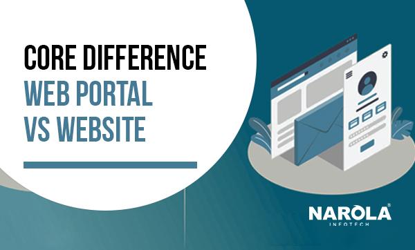core-difference-web-portal-vs-website