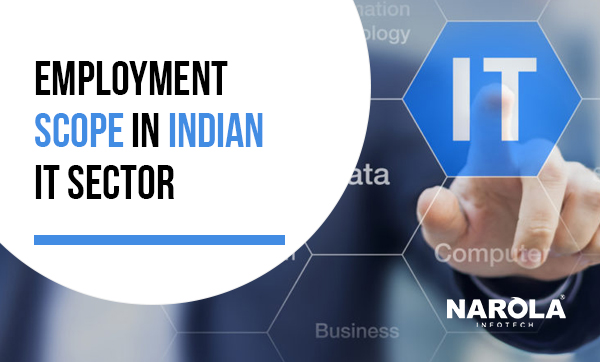 The Employment Scope in Indian IT Sector
