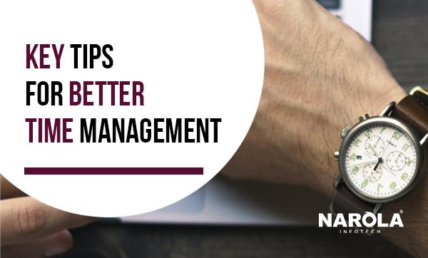 key tips for better time management