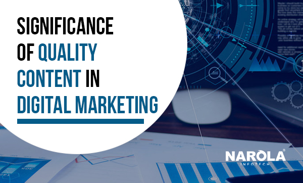 significance of quality content in digital marketing