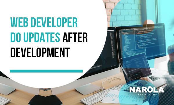 web-developer-do-updates-after-development