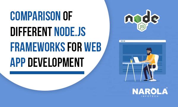 Comparison of Different Node.js Frameworks for Web App Development