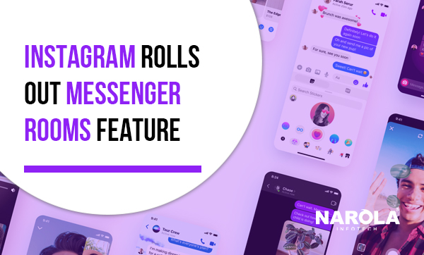 Check out the New Instagram Messenger Room feature for Video Calling