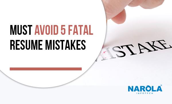 must-avoid-5-fatal-resume-mistakes
